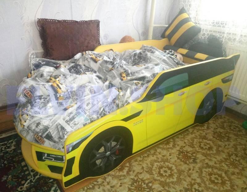 кровать премиум желтая отзыв