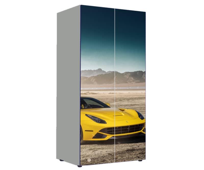 шкаф ламбо желтый