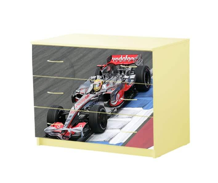 формула 1 комод с 3 ящиками