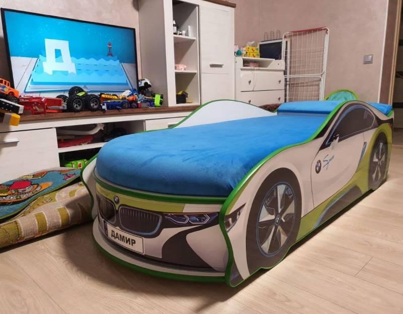Отзыв детской кровати машинки бмв спейс