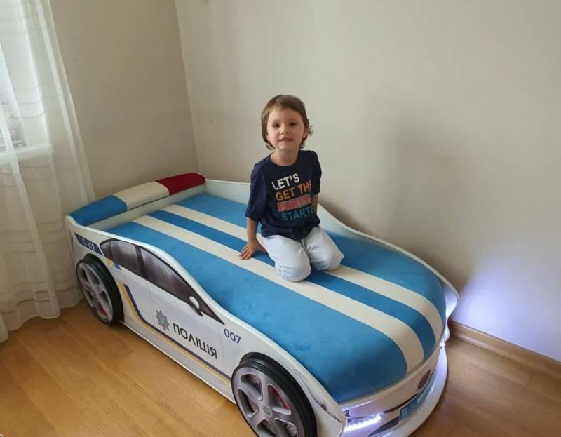 Отзыв детской кровати машинки полицейской