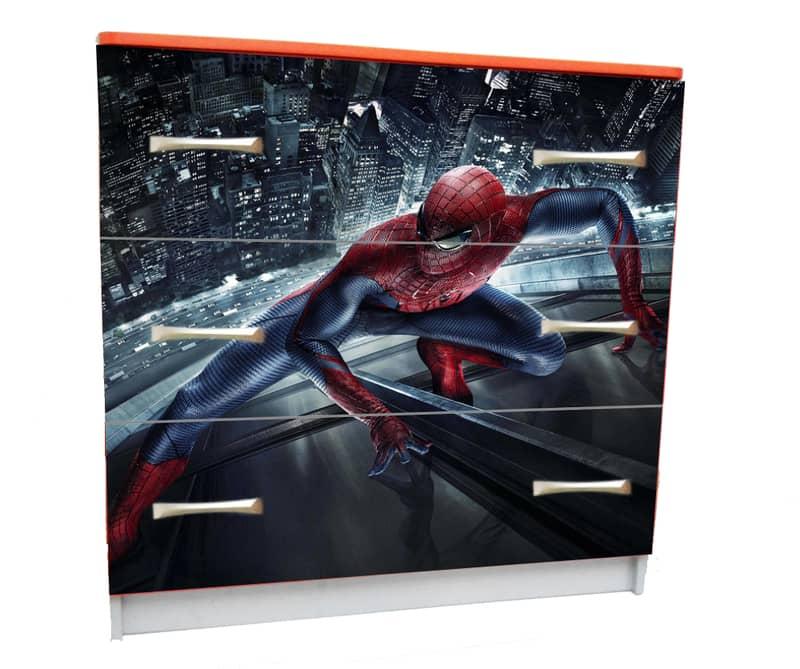 человек паук комод с 3 ящиками