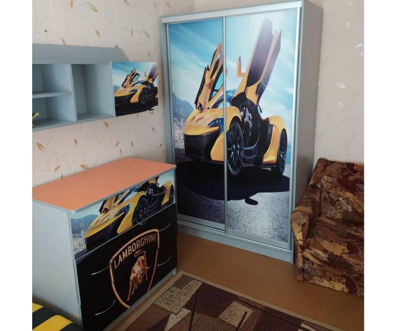 комод и шкаф в детскую ламбо