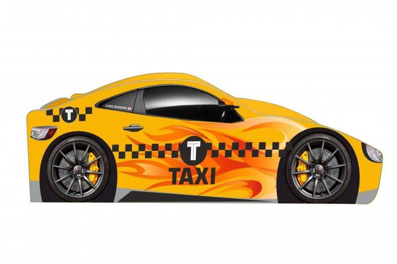 кровать машина такси бренд