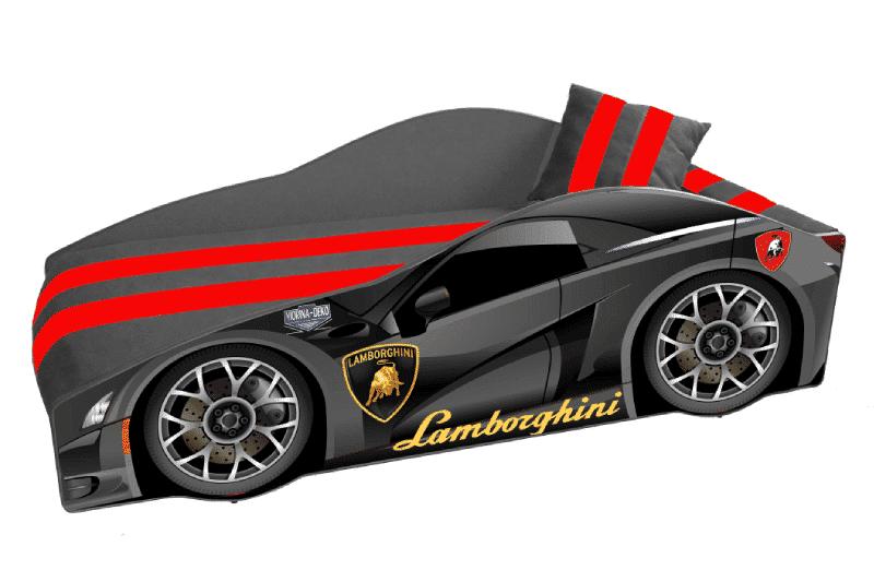 кровать машина ламборджини элит черная
