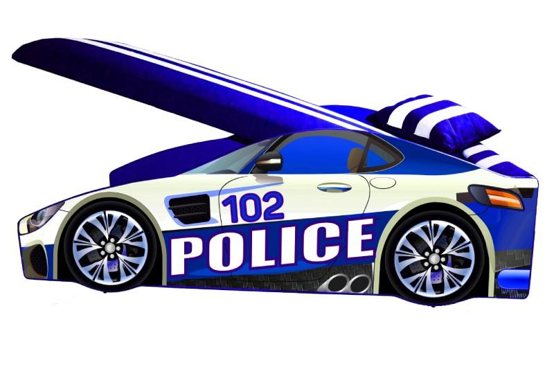 кровать машинка полиция элит