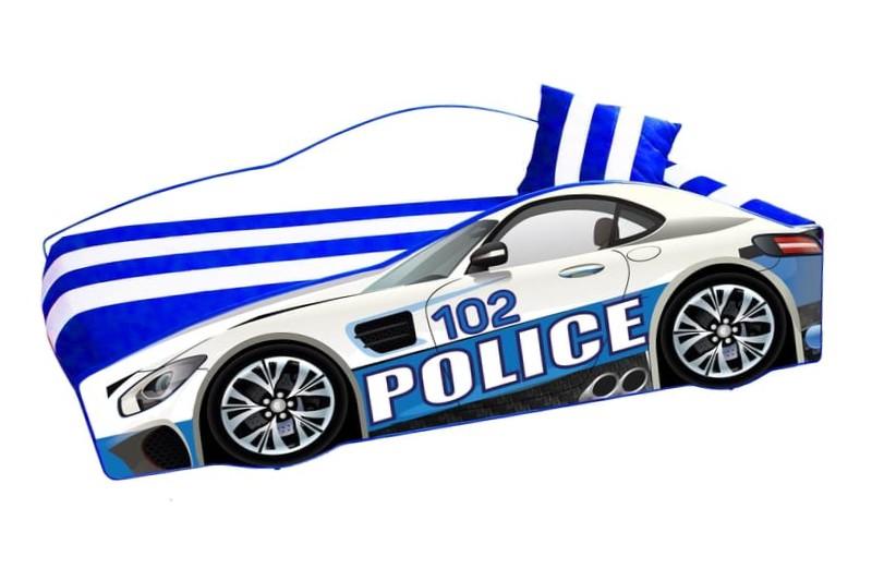 кровать машина полиция элит