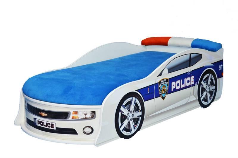 кровать машина полиция шевроле