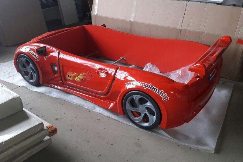 кровать машина турецкая из пластика формула 1 фото
