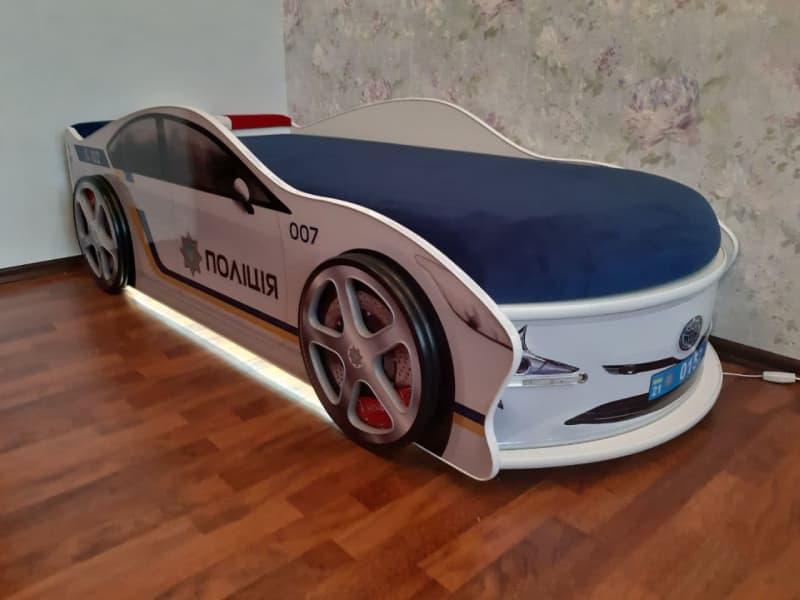 кровать машинка украинская полиция