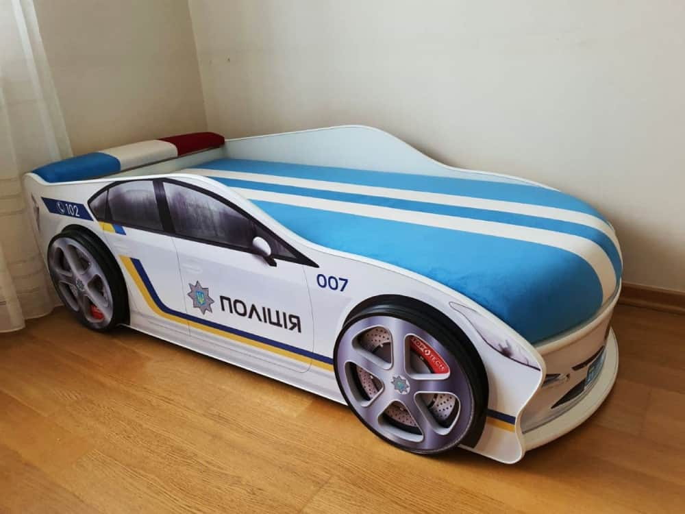 кровать машина полиция украины