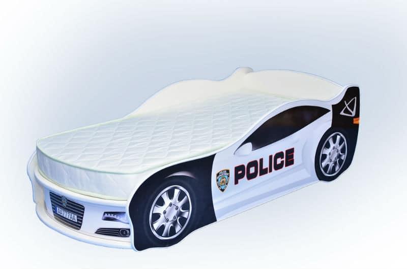 кроватка машинка ягуар полиция