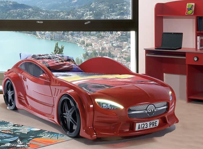 кровать машина GT вип красная с подсветкой