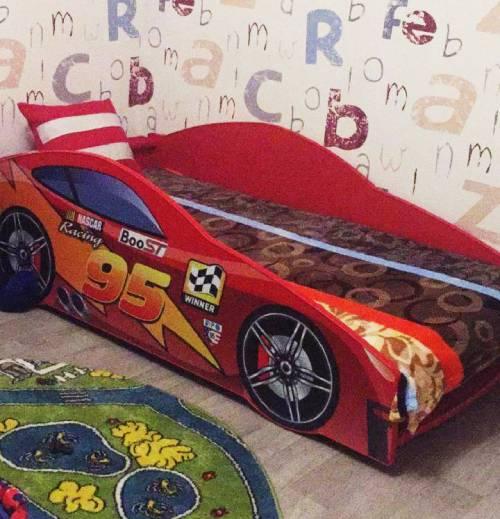 отзыв на кровать машину красную тачки