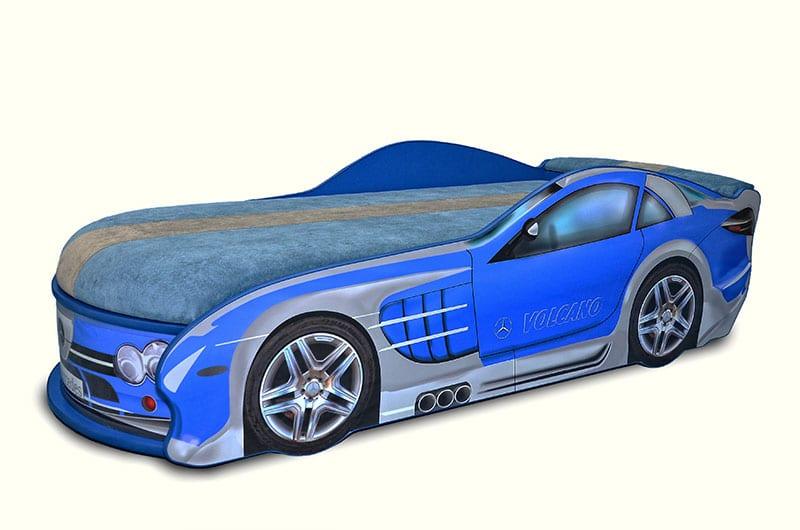 мерседес синий кровать машинка