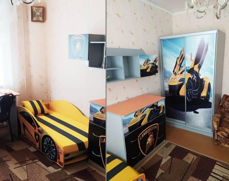 отзыв на детскую комнату ламборджини