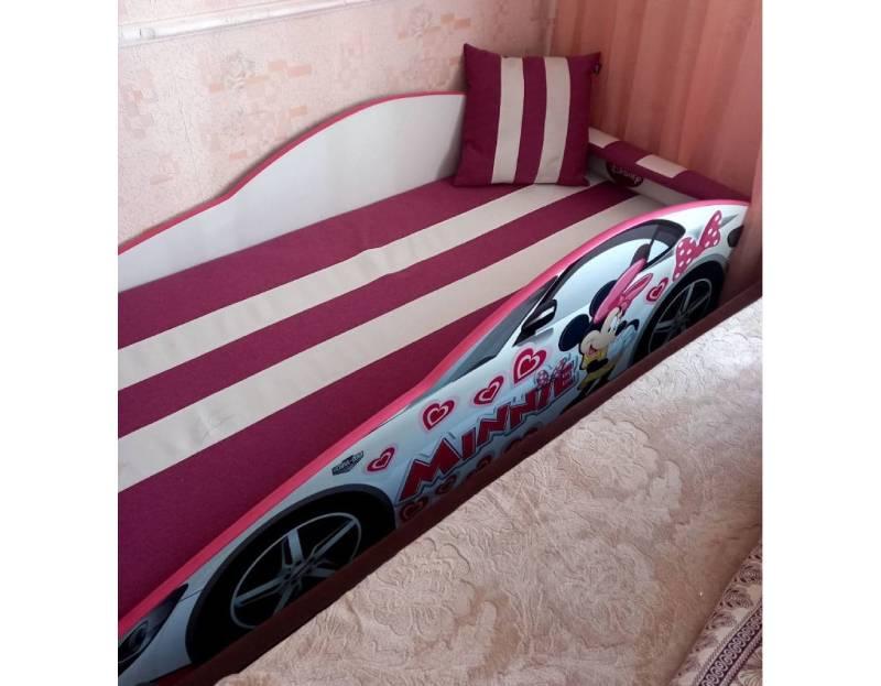 отзыв на кровать машину минни маус