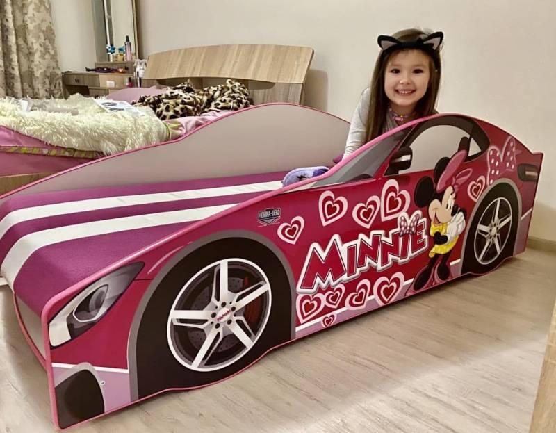 отзыв на кровать машину минни маус для девочки
