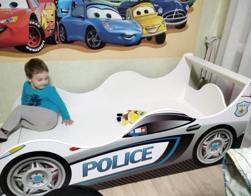 отзыв на кровать машину порш полиция драйв
