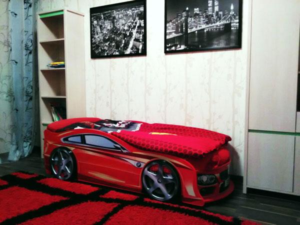 отзыв на кровать машину бмв красную