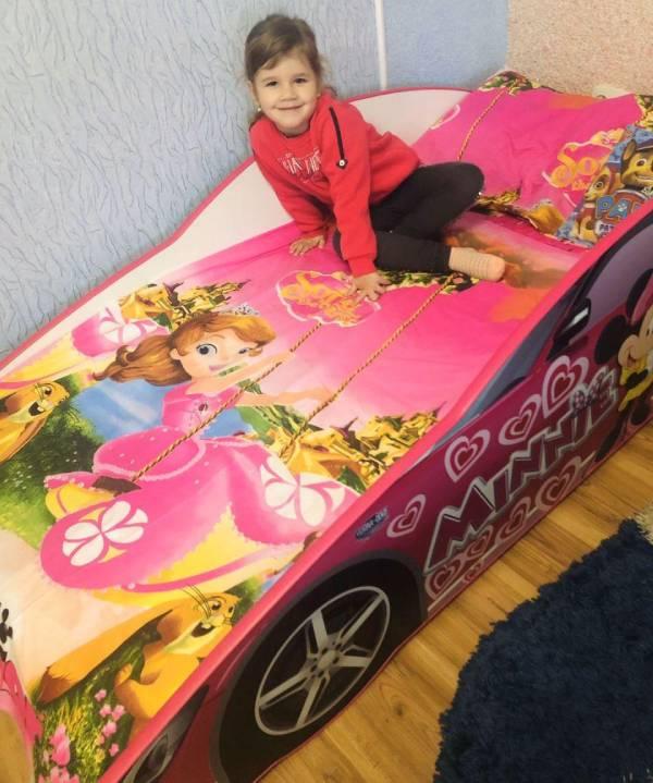 отзыв на кроватку для девочки минни маус