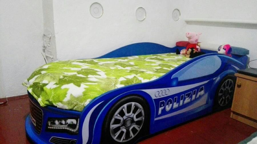 кровать полиция ауди синяя отзыв