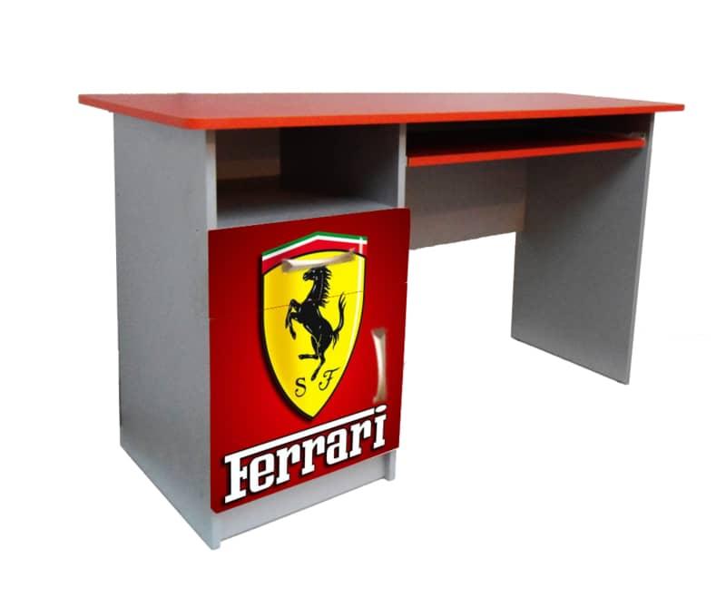 стол в детскую феррари красный