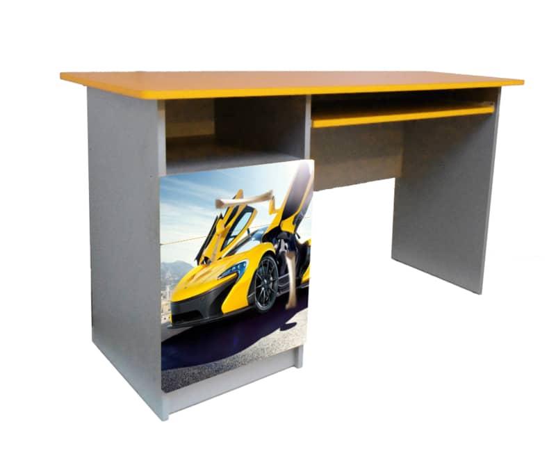 стол ламборджини желтый