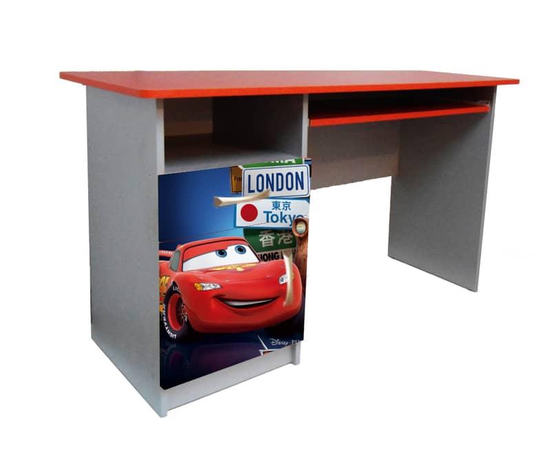 красный письменный стол маквин