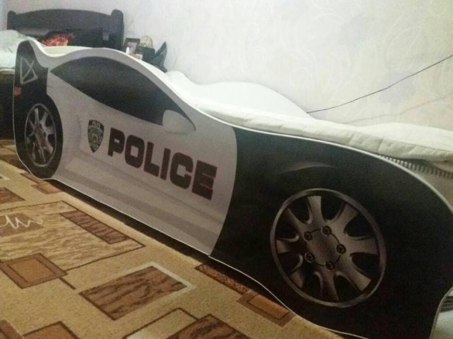 отзыв кровать машина полиция