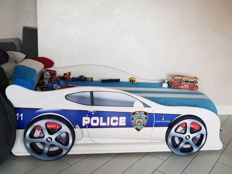 кровать машинка полиция америка
