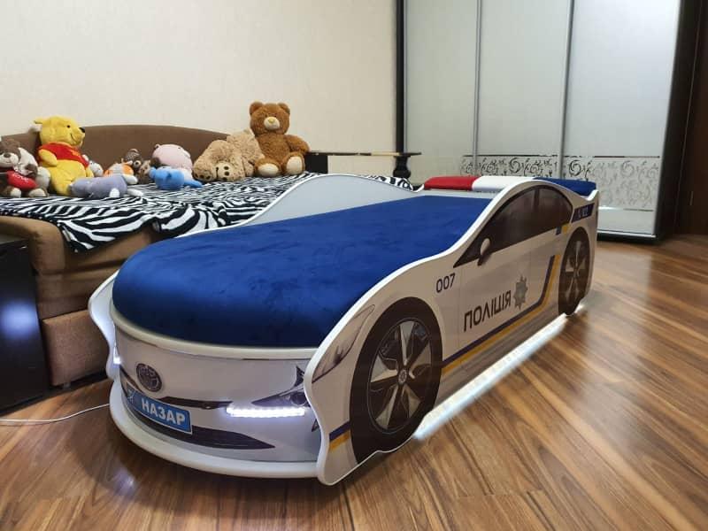 кровать машинка полиция украина