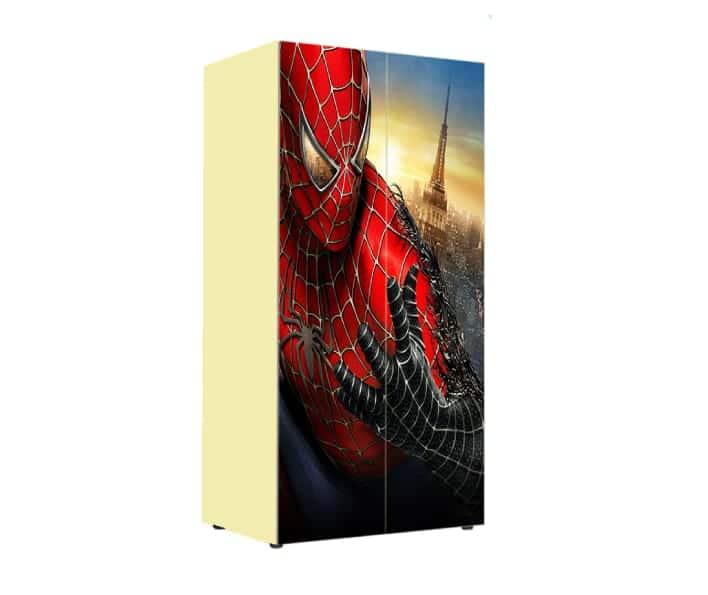 детский шкаф человек паук