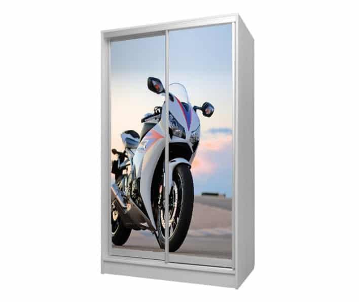 шкаф купе мотоцикл