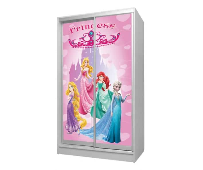 шкаф купе принцессы дисней