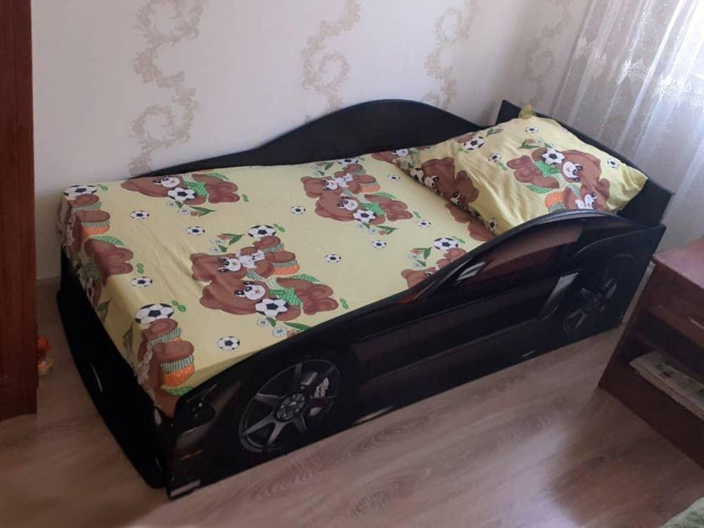 кровать машина бренд мустанг