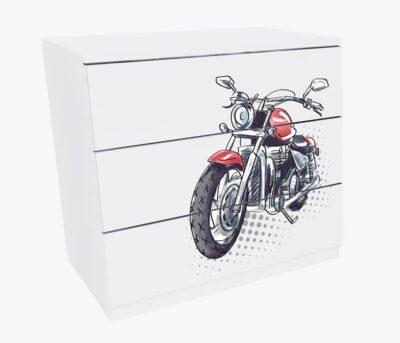 Мотоцикл 3 ящика