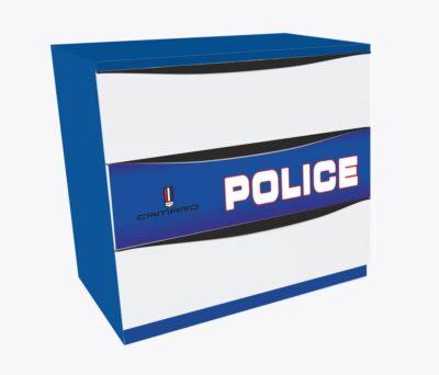 Полиция с ящиками