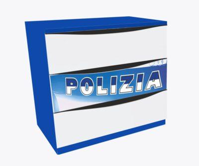 синий комод полиция в детскую