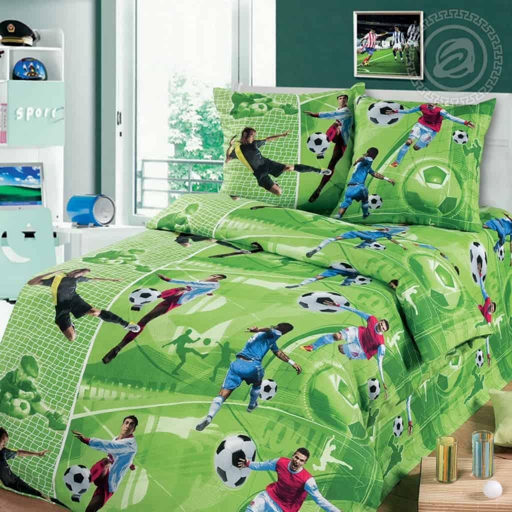 постельное футболисты