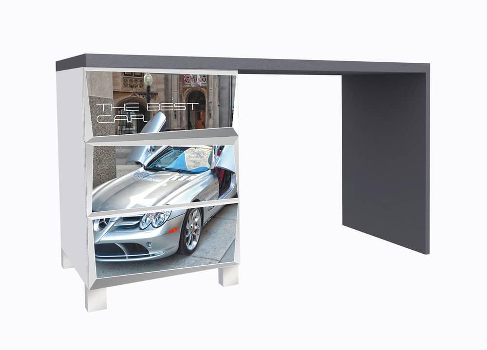 стол с 3 ящиками мерс