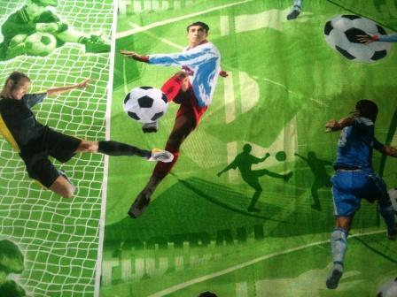 постельное футбол
