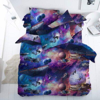 постільна білизна космос