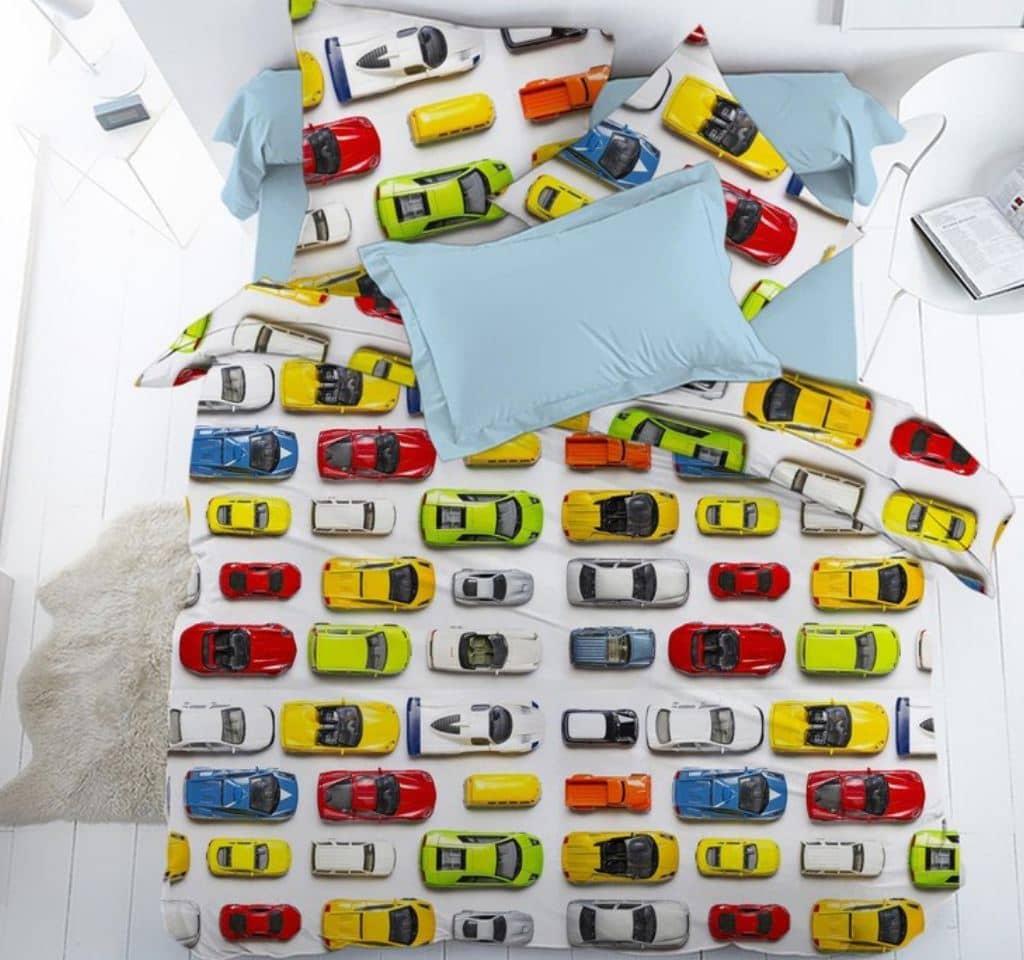 постельное с машинками