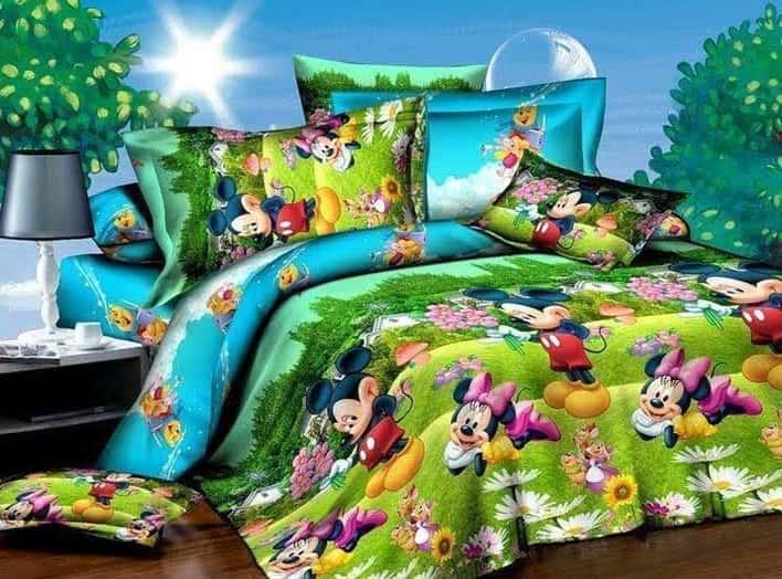 постельное белье минни маус