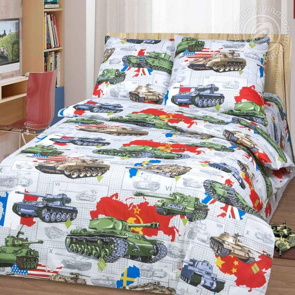постельное танки