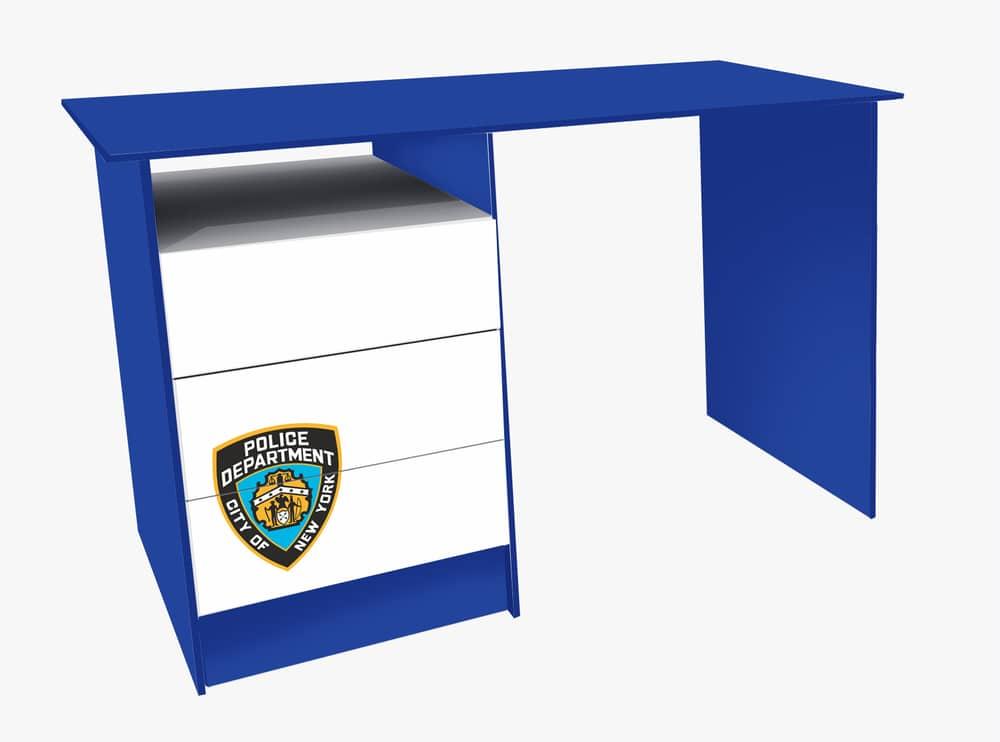 письменный стол полиция