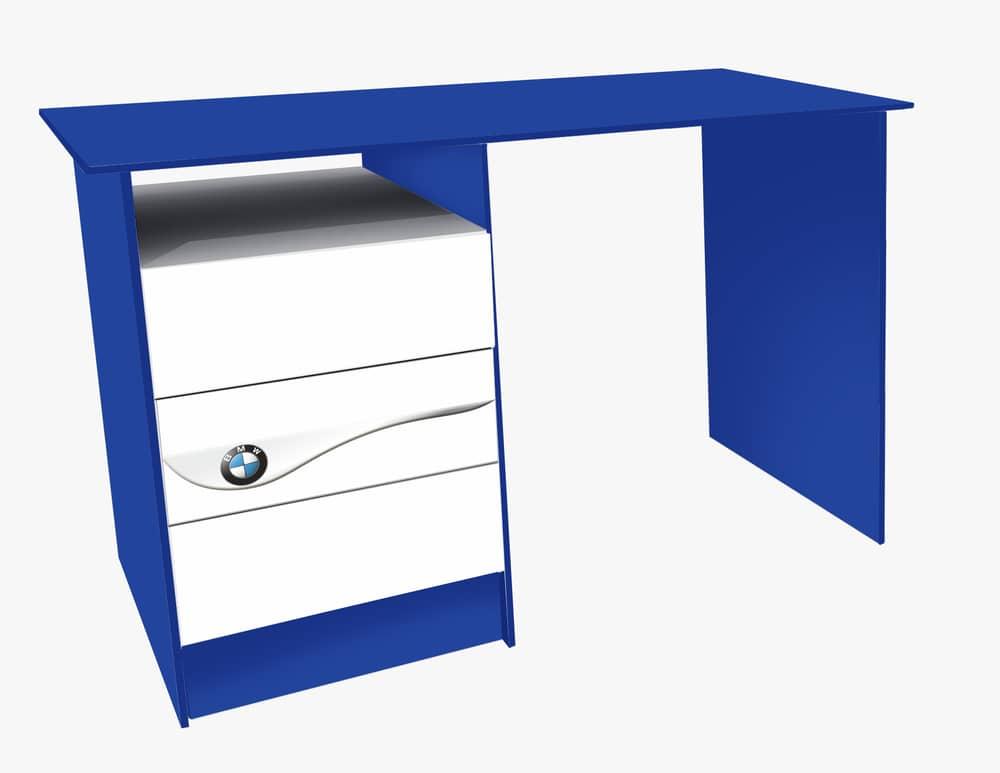 синий стол бмв