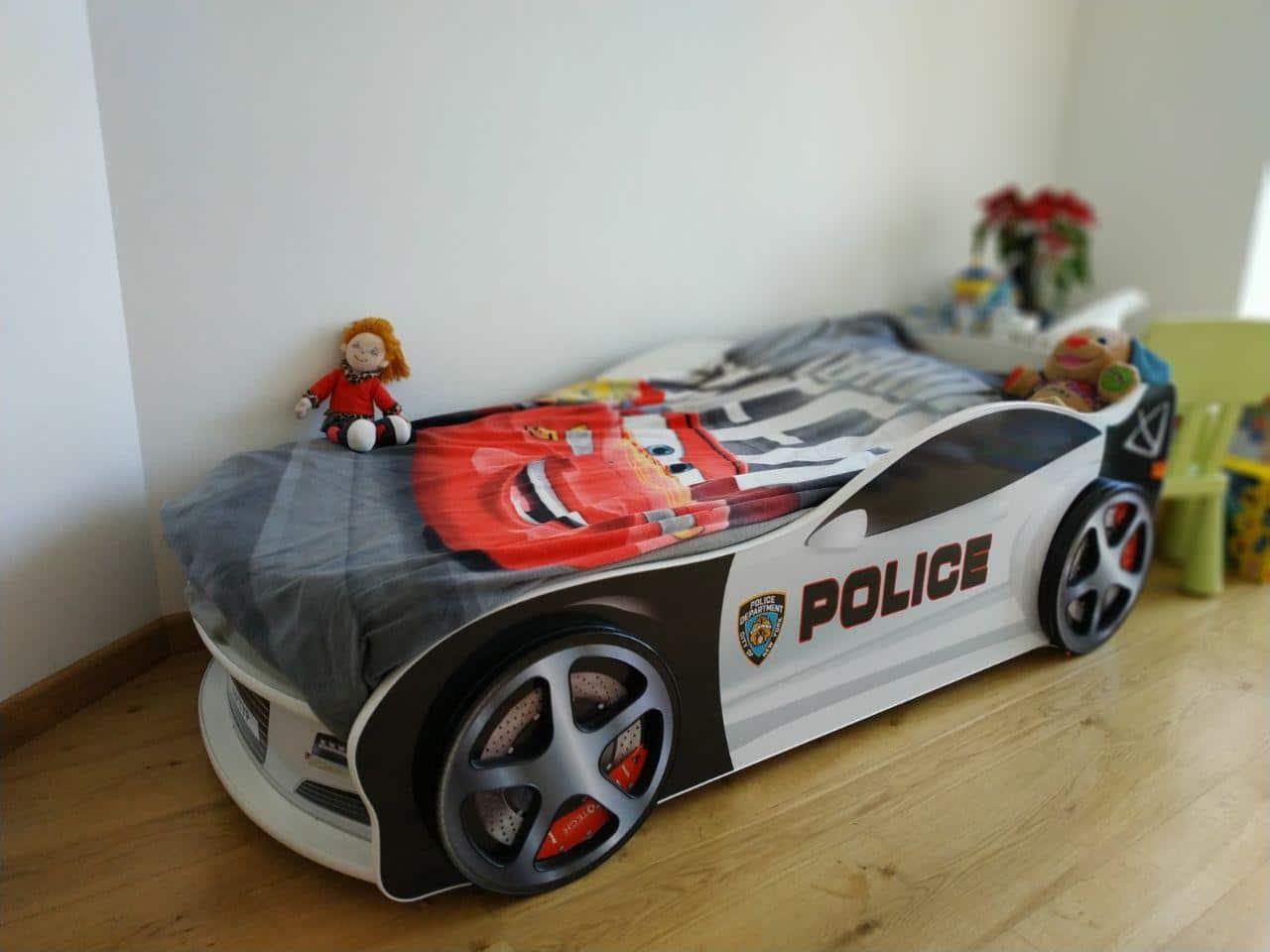 отзыв на кровать машину полиция с постельным