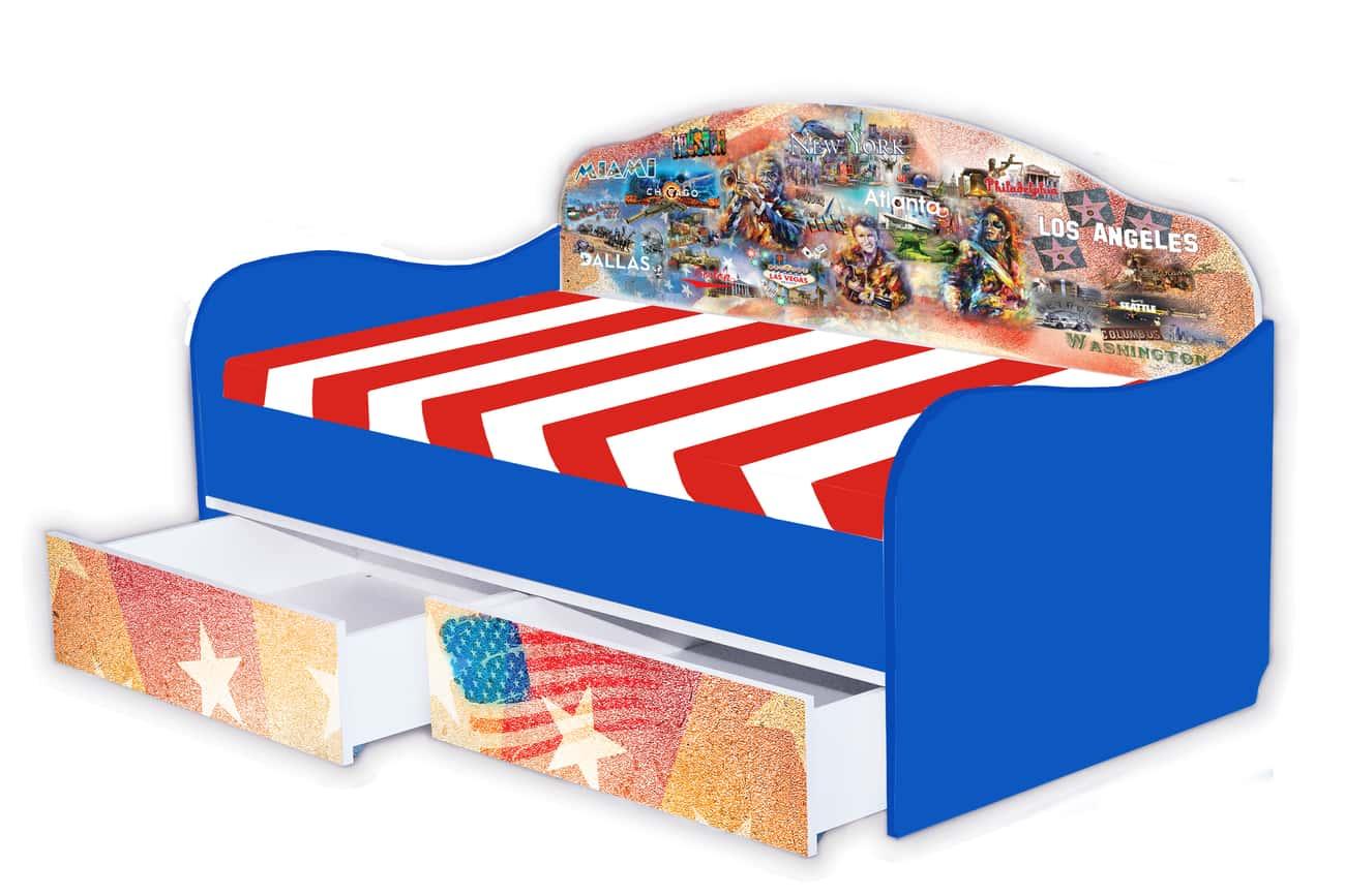 кровать диванчик америка